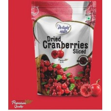 Delight Nuts Sliced Cranberries 200gm
