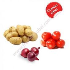 Vegetable Mini Pot -  1kg Potato, 1kg Onion, 500gm Tomato