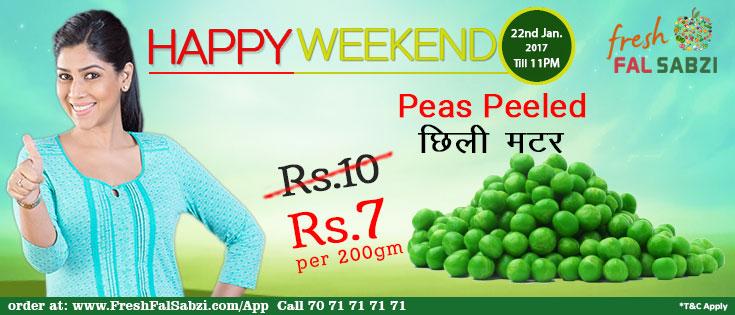 Happy Weekend Offer