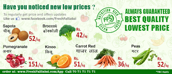 Have you noticed new prices